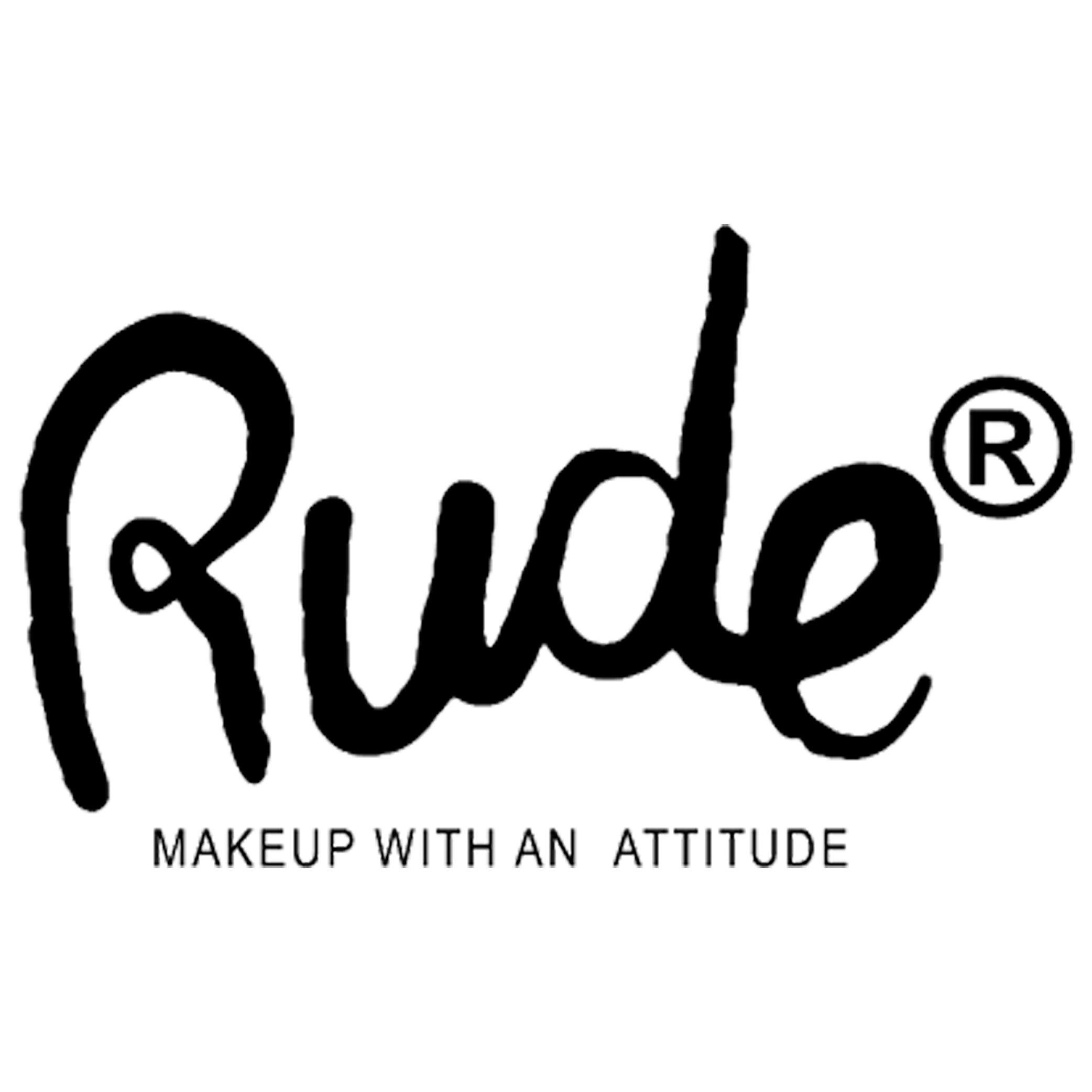 Logo de Rude Cosmetics